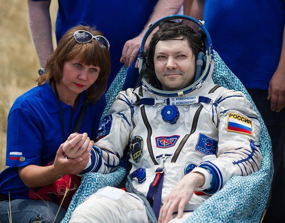 cosmonaut, russia, russian