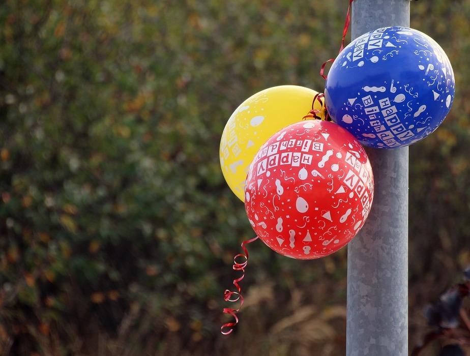 birthday, balloon, happy birthday
