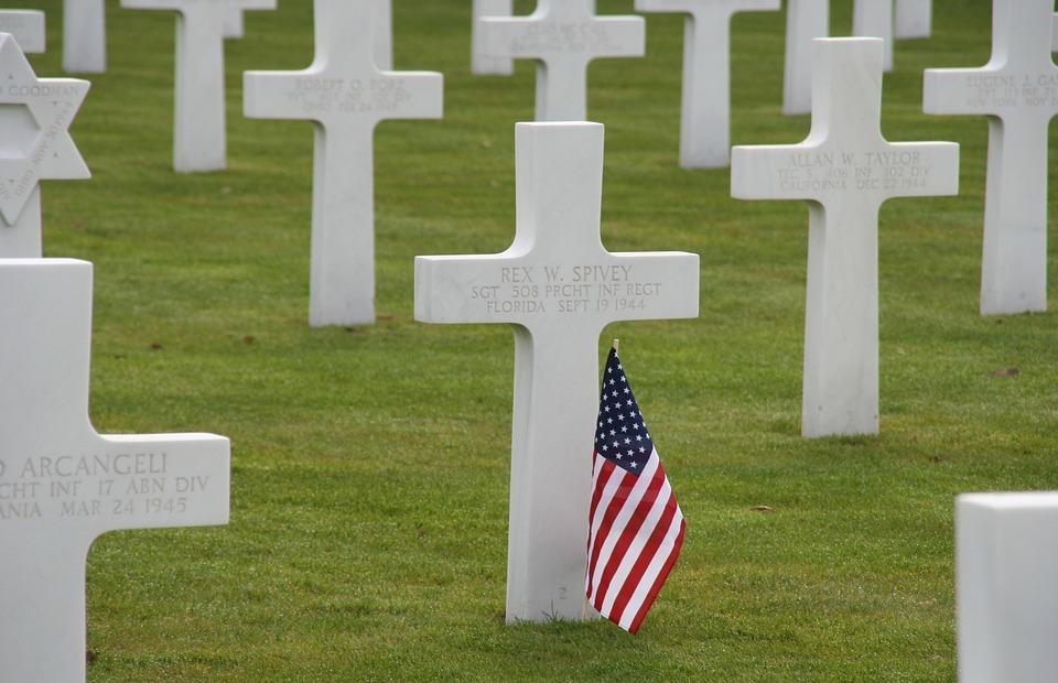 grave, war, cemetery
