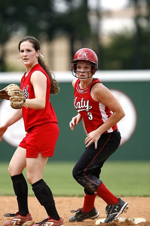 softball, girls, athlete