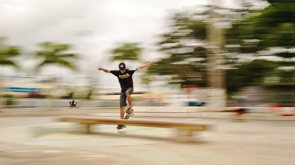 skateboard, sport, radical