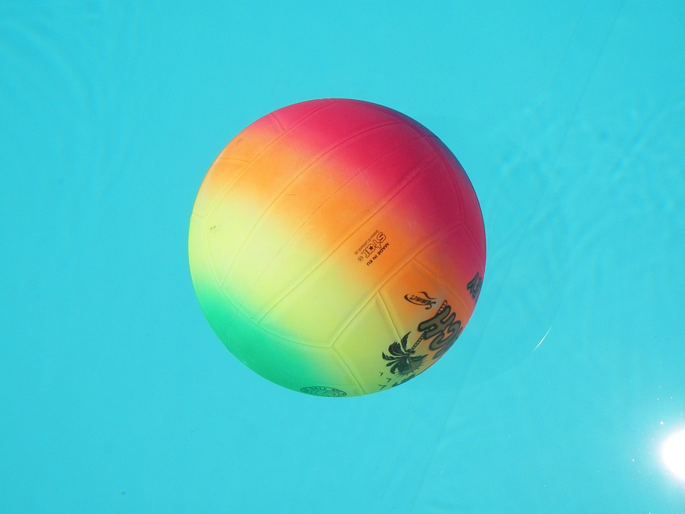 volleyball, ball, multicolour