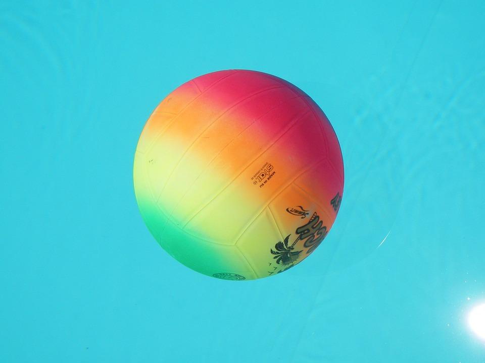 volleyball, ball, multicolour