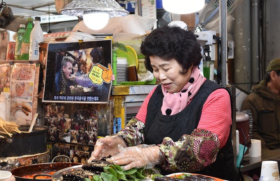 korea, south korea, market