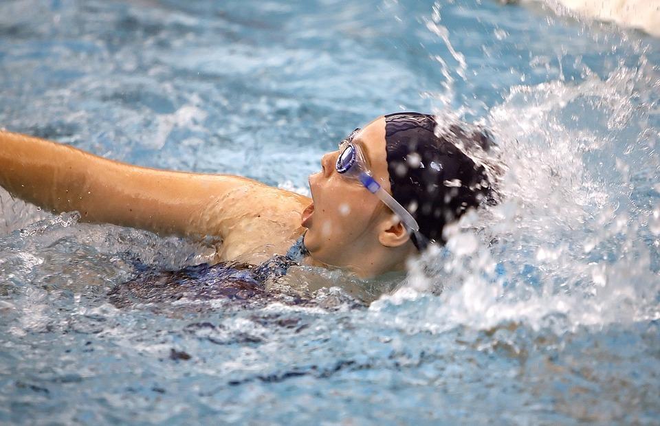 swimmer, swimming, sport