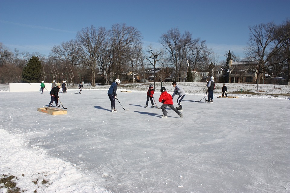 hockey, pond hockey, outdoor hockey