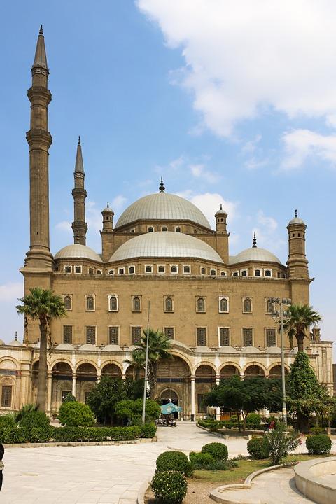 mosque, minaret, cairo