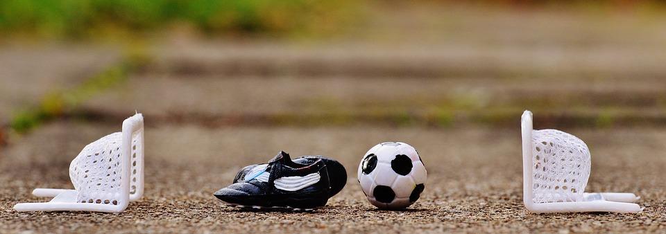 football, gates, sports shoes