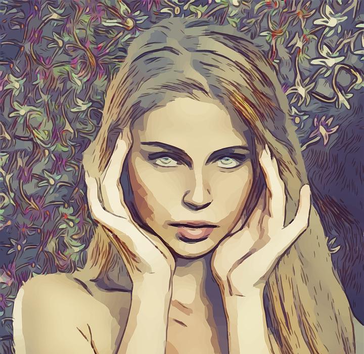 headache, pretty, blonde