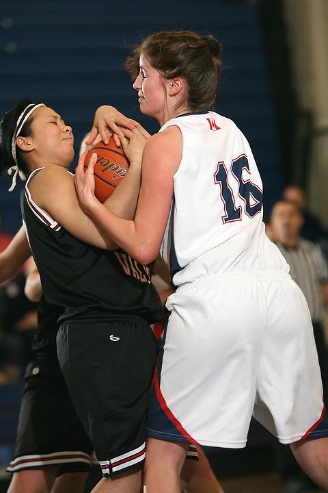 basketball, girls, game