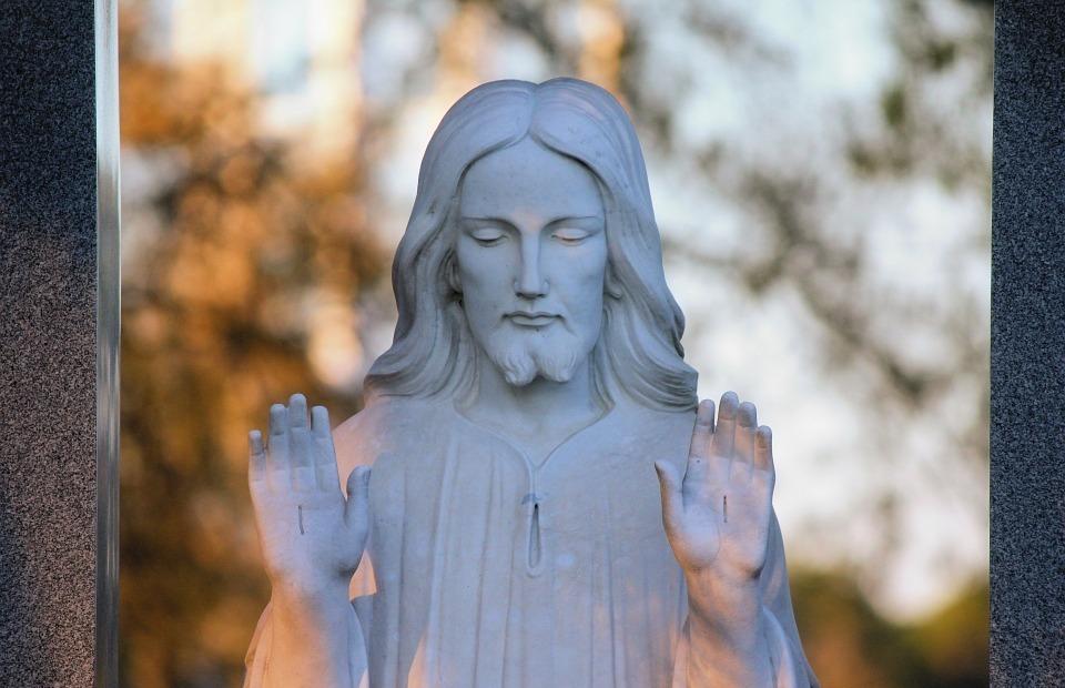 jesus, religious, statue