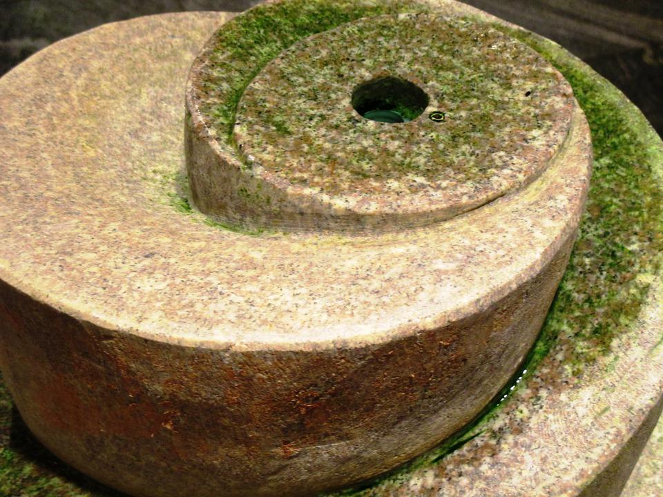 fountain, indoor fountain, stone