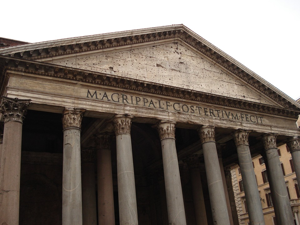 rome, pantheon, italy