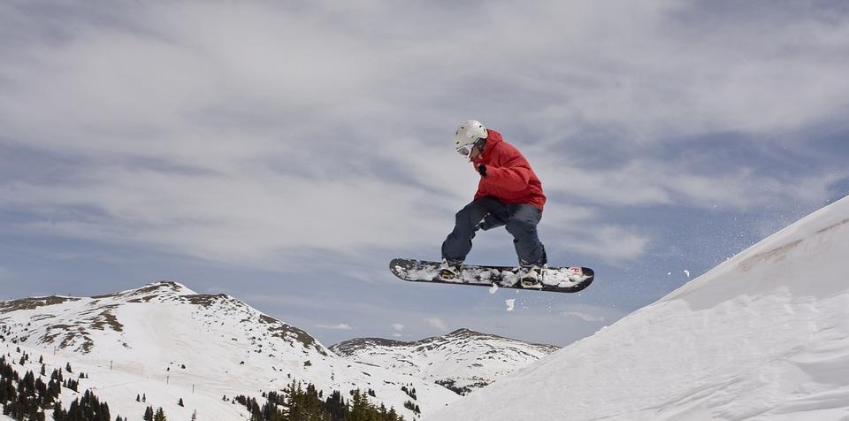 winter, snowboard, snowboarding