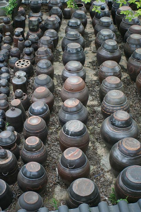 korea, pots, traditional pots