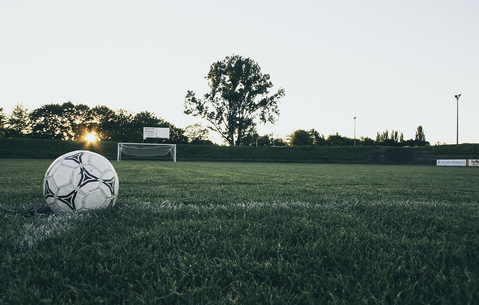 football, ball, sports ground