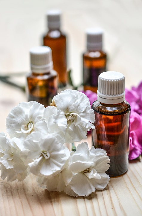 essential oils, aromatherapy, spa