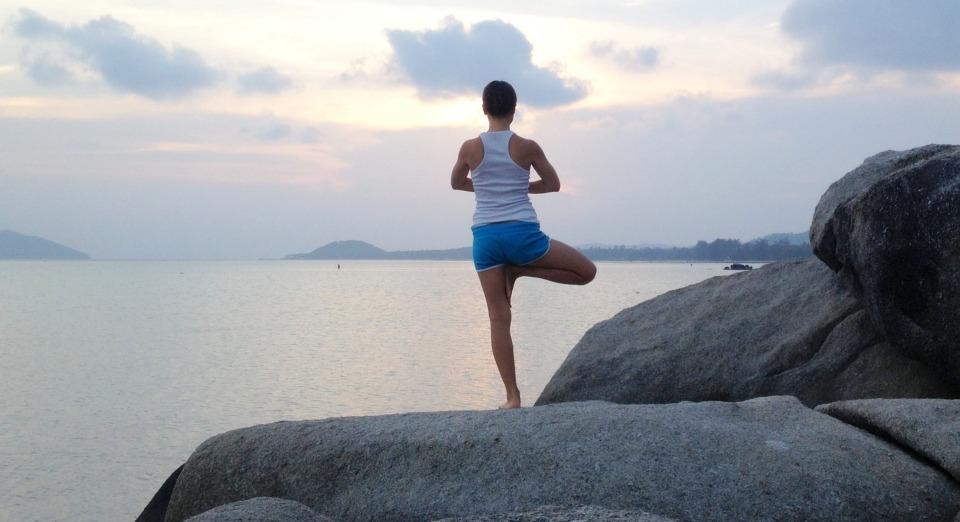 yoga, balance, zen
