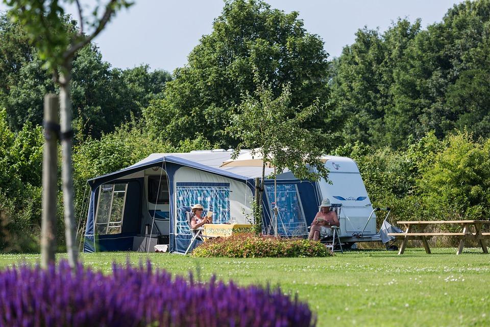 holiday, camping, family