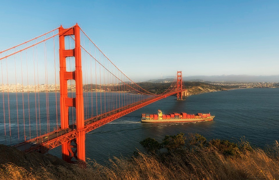 golden gate bridge, landmark, tourist attraction