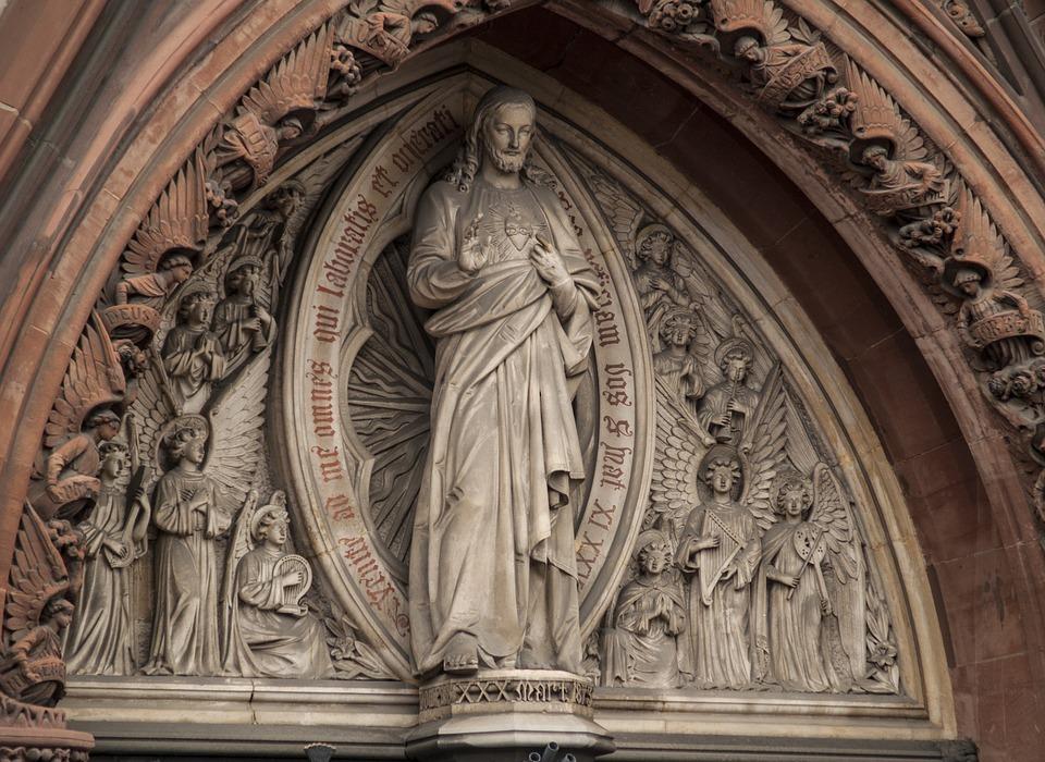 jesus, statue, religion