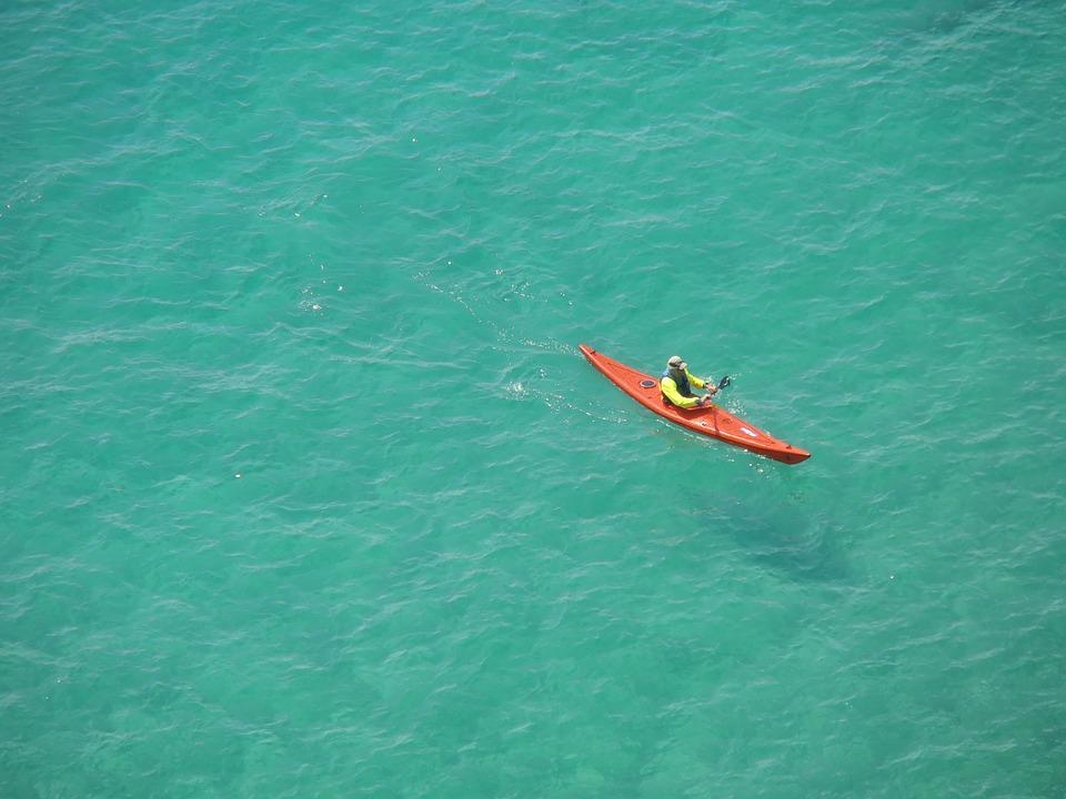 cassis, kayak, sea