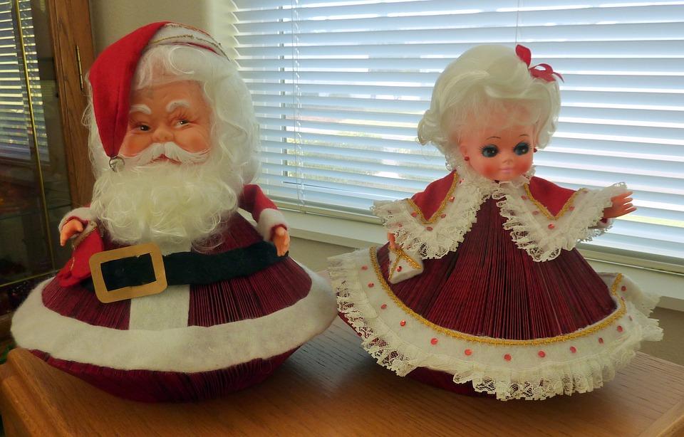 santa, claus, holidays