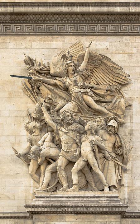 sculpture, la marseillaise, paris
