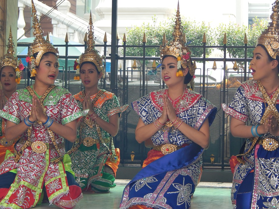 dancers, traditional, thai
