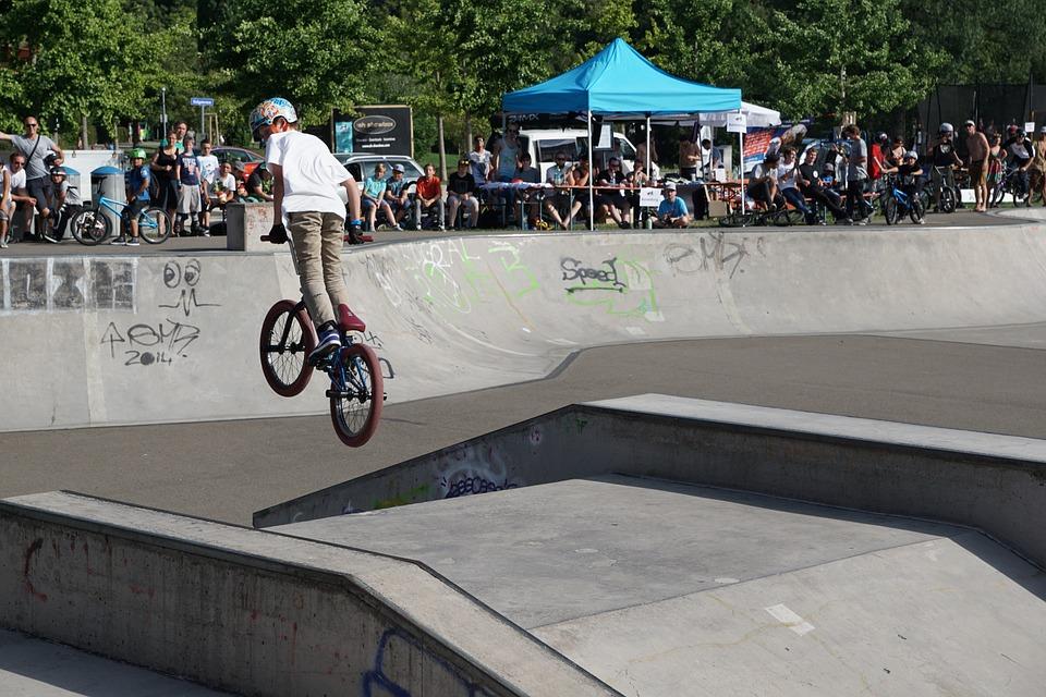 bmx, bike, sport