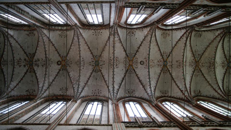 lübeck, st mary\'s church, gothic