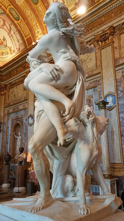 bernini, galleria, rome