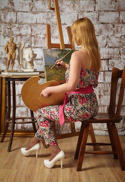 artist, teacher of drawing, the teacher in drawing