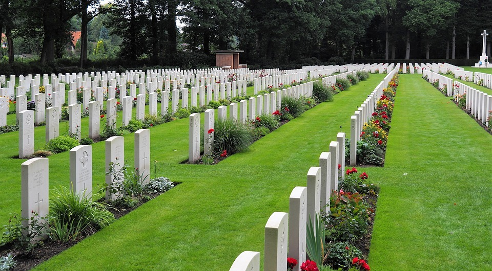 cemetery, war, memorial