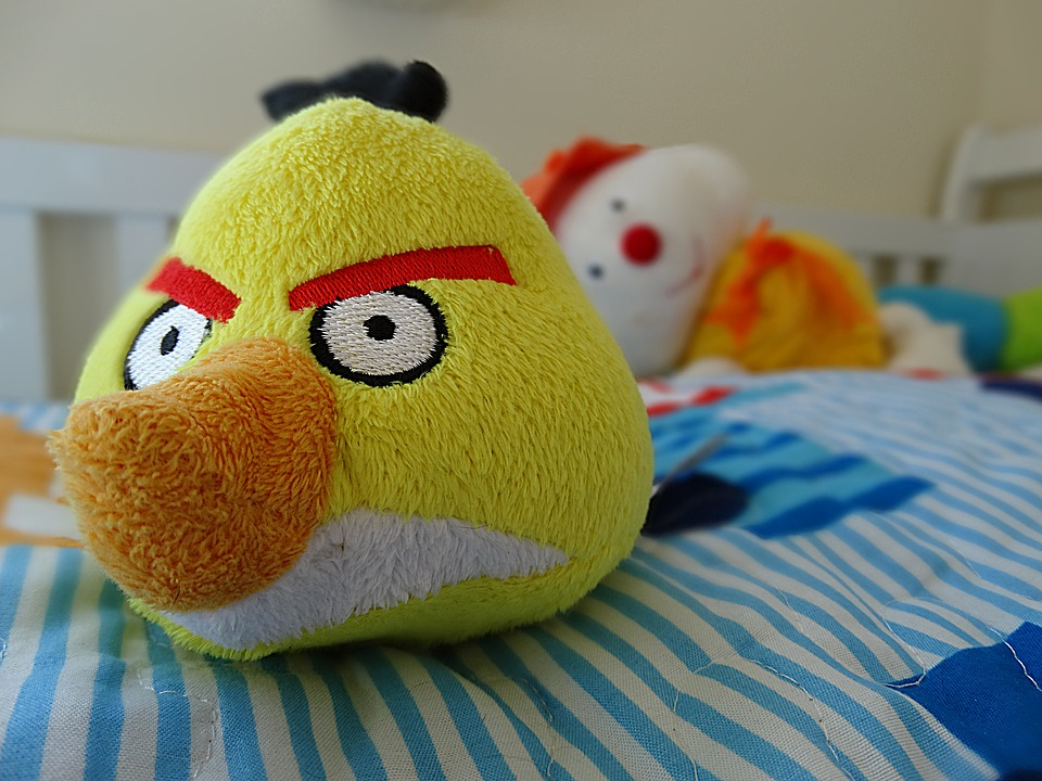 angry birds, toy, snowman