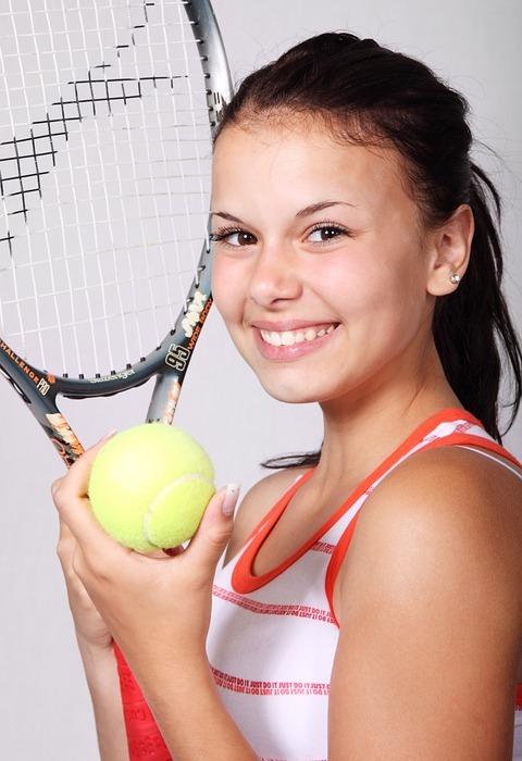 tennis, sports, girl