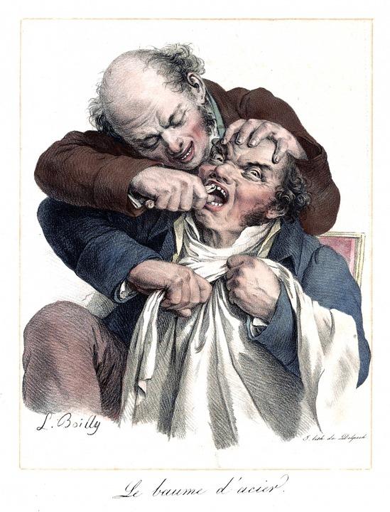 dentistry, dentist, vintage