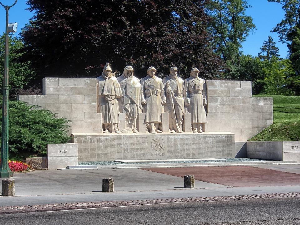 verdun, france, war memorial