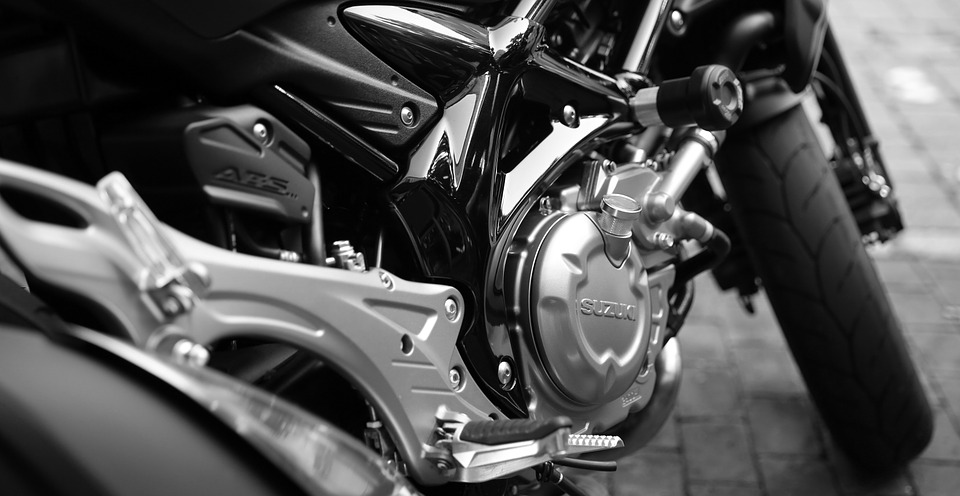 motorcycle, suzuki, motor