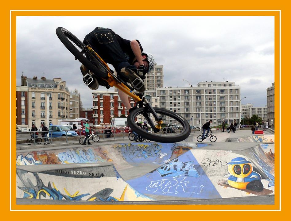 bmx, sport, bike
