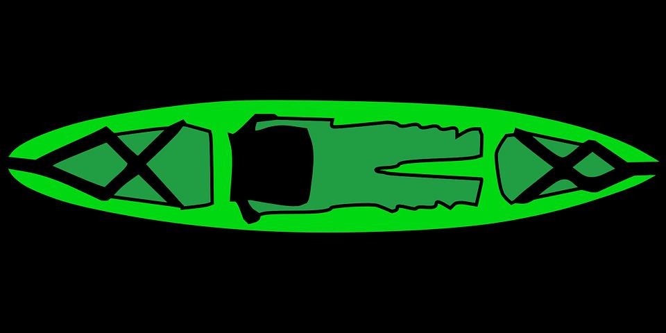 kayak, boat, canoe