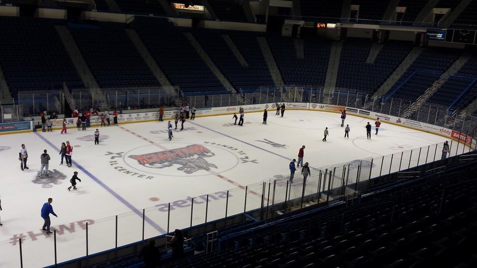 ice hockey, rink, hockey rink