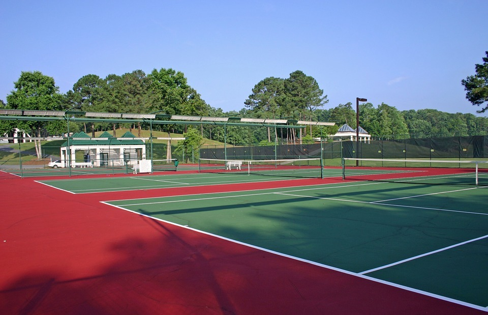 georgia, tennis court, court