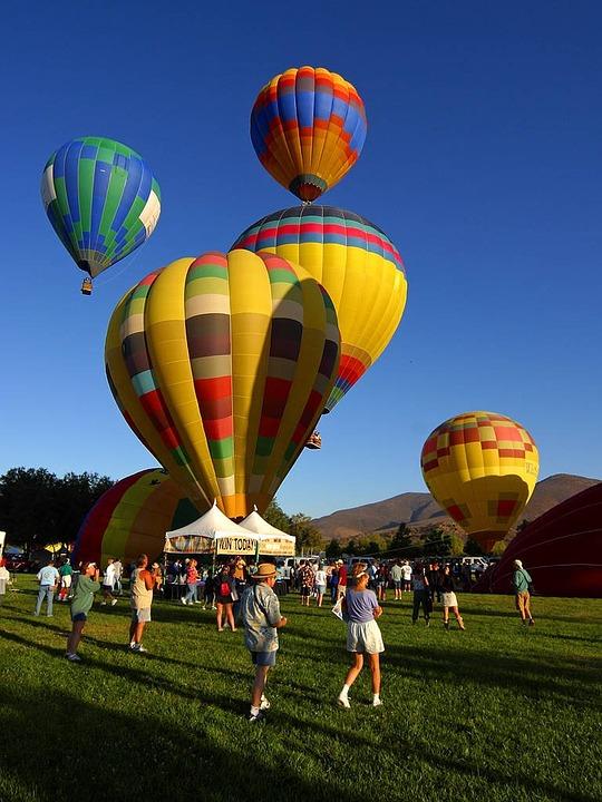 ballons, hot air balloon, air sports