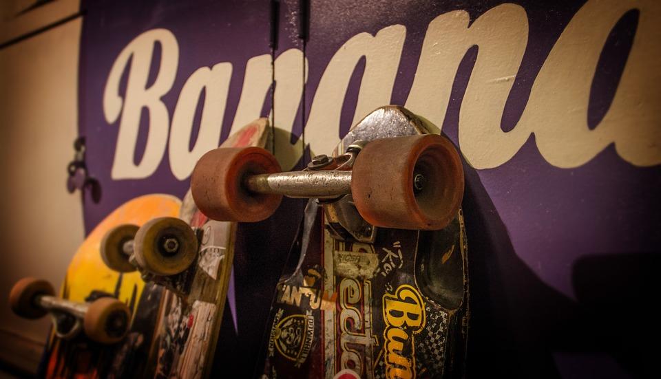 skateboards, skateboard, skateboarding