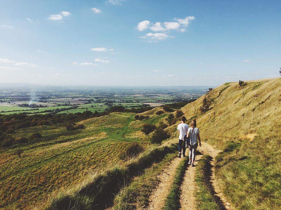 way, path, couple