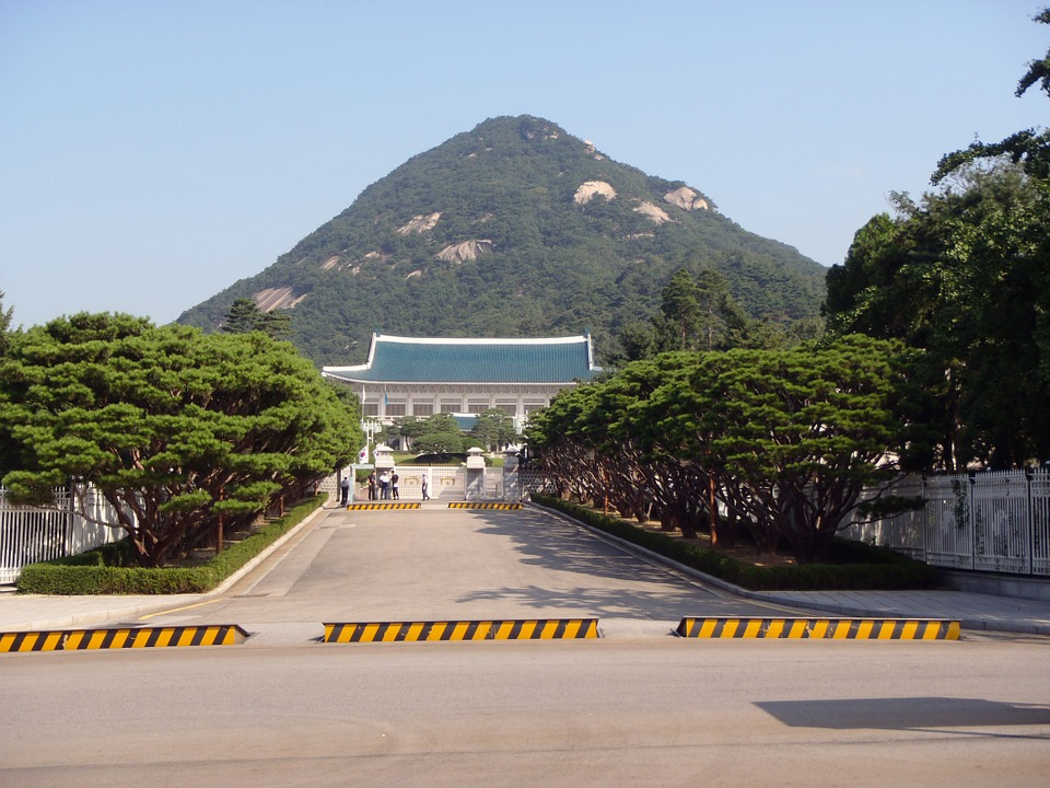 korea, president, building