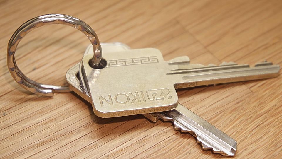 keys, key ring, security