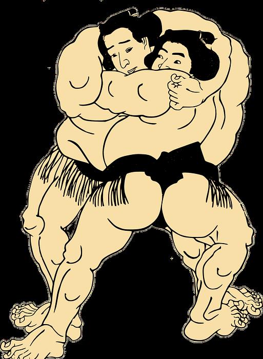 sumo, wrestling, japan