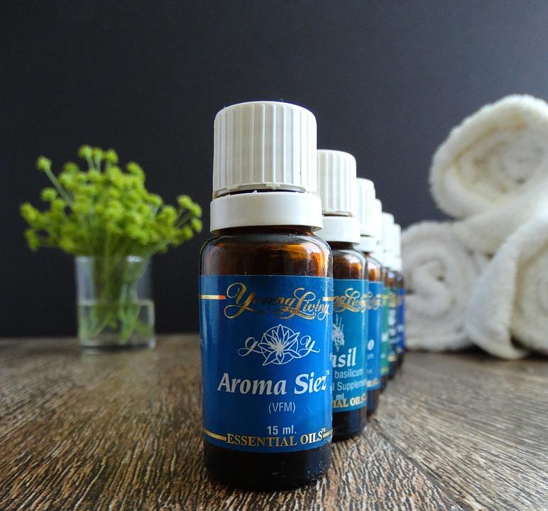 essential oils, wellness, massage